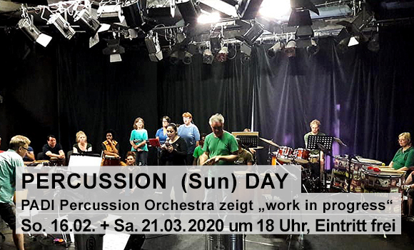 Percussion (Sun)Day